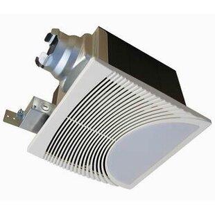 Very Quiet 80 Cfm Bathroom Ventilation Fan With Light Nightlight