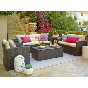 Hanscom 5 Piece Sofa Set with Cushions By Ivy Bronx