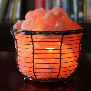 Check Prices Badger Himalayan Glow 7 Salt Lamp (Set of 2) By World Menagerie