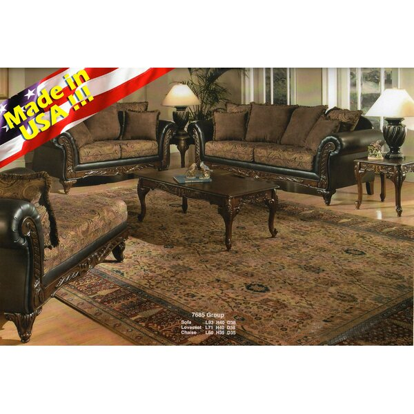 Oswego 2 Piece Living Room Set by Astoria Grand