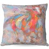 Couch Runner Horses Throw Pillow