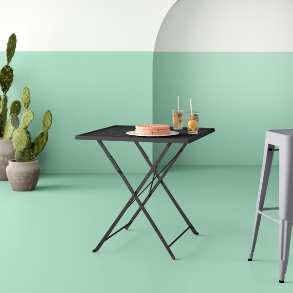 Truett Metal Dining Table By Hashtag Home