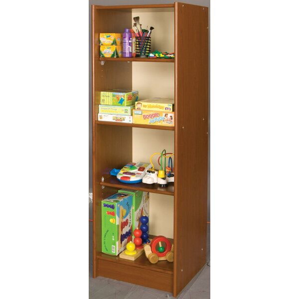 Vos System 4 Compartment Shelving Unit by TotMate