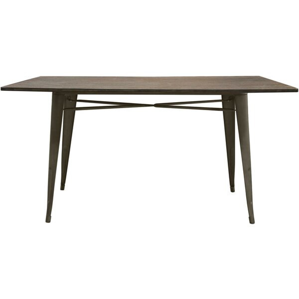 Tatro Solid Wood Dining Table by Williston Forge