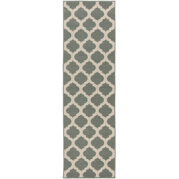 Pewter Outdoor Area Rug by Surya
