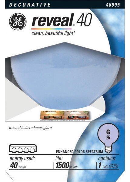 40W 120-Volt (2550K) Light Bulb by GE