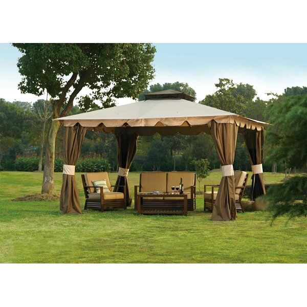 Replacement Curtain for Hampton Gazebo by Sunjoy