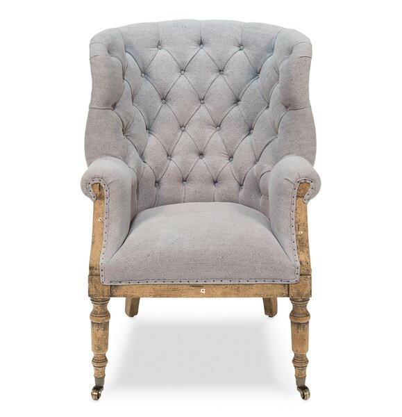 Talmont Wingback Chair by Sarreid Ltd