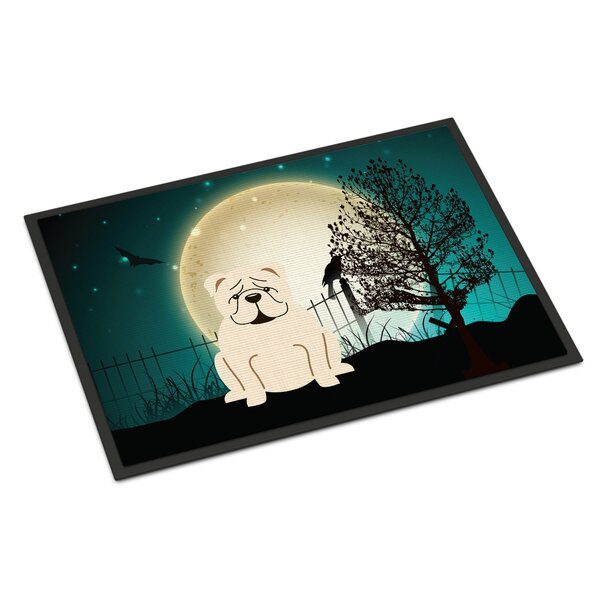 Halloween Scary English Bulldog Doormat by Caroline's Treasures
