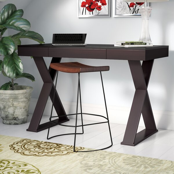 Baillie Campaign Writing Desk by Zipcode Design