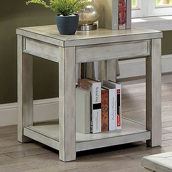Oatman End Table by Gracie Oaks Gracie Oaks