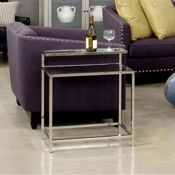 End Table by Sarreid Ltd