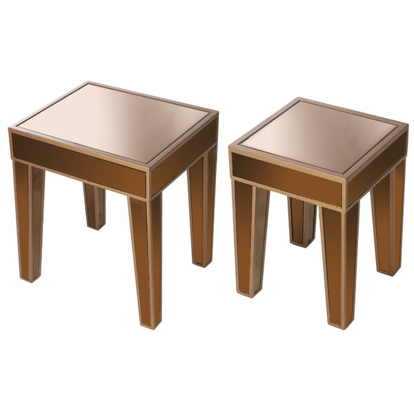 Review Wanger 2 Piece Nesting Tables