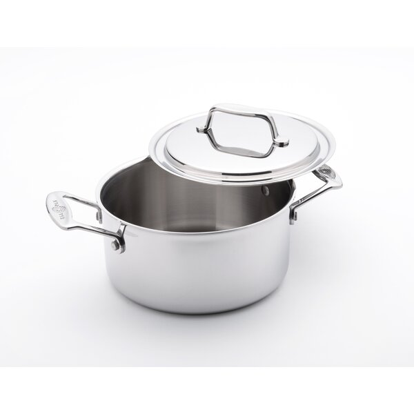 Stock Pot with Lid by USA Pan
