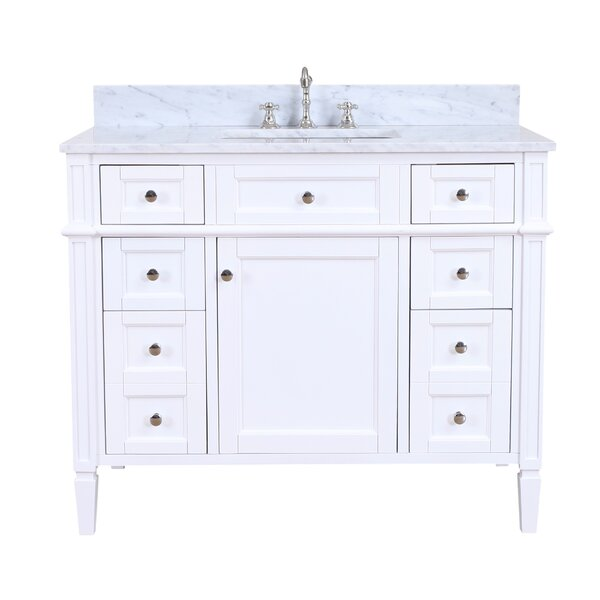 Hailey 42 Single Bathroom Vanity Set by Kitchen Bath Collection