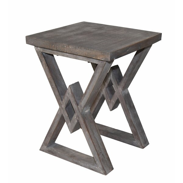 Caddell End Table by Union Rustic