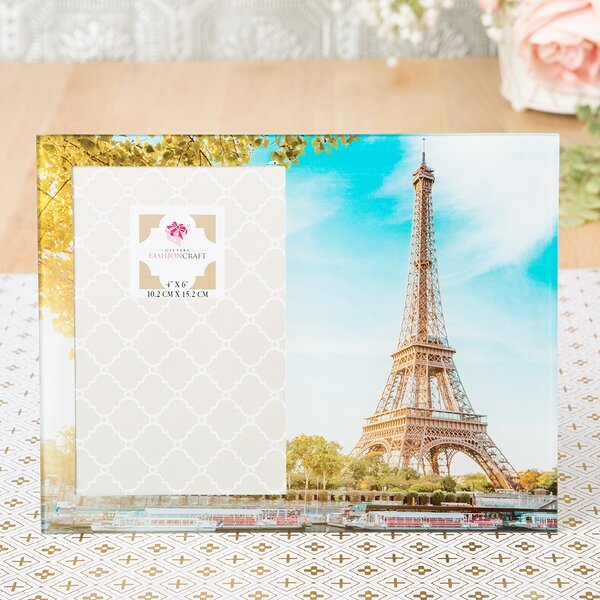 Stunning Eiffel Tower Picture Frame by Fashion Craft
