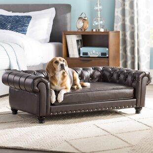 Gentil Cornelia Dog Sofa With Solid Foam Cushion