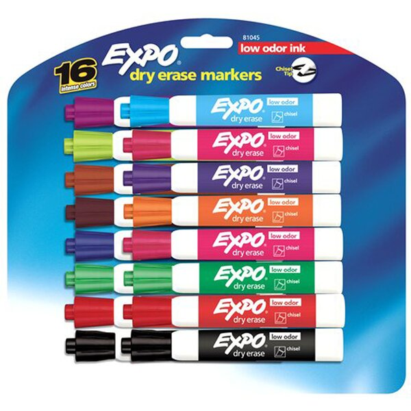 Expo Low Odor Dry Erase Markers by Sanford Ink Corporation
