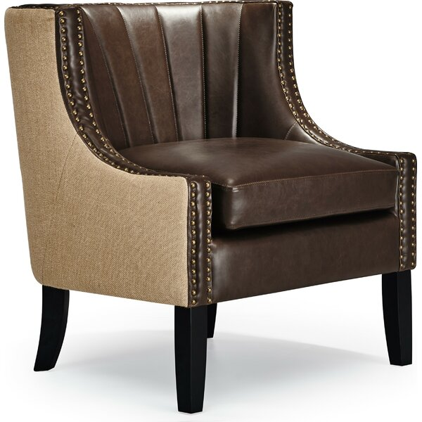 Tommy Dorset Leather Club Chair By Tommy Hilfiger