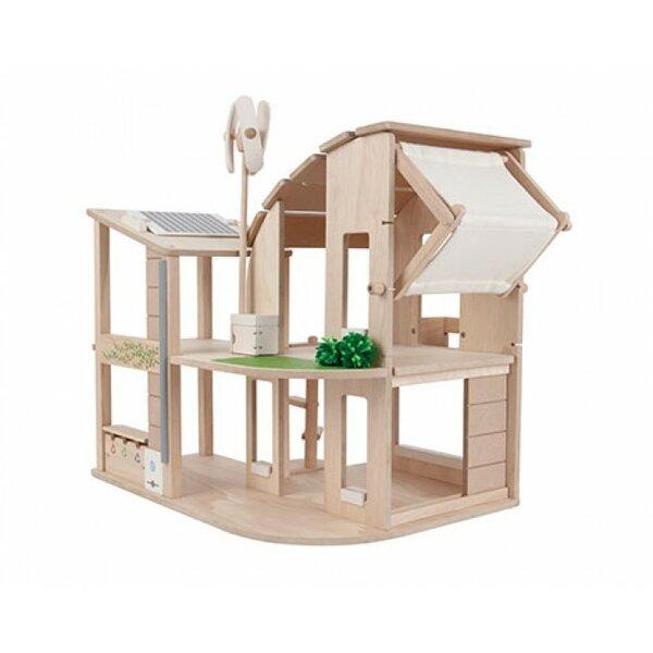 Green Dollhouse By Plan Toys.