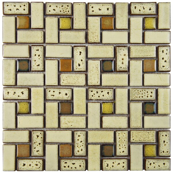 Essentia 12 x 12 Porcelain Mosaic Tile in Sierra by EliteTile