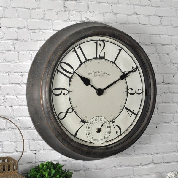 Isle Patina 14.5 Wall Clock by FirsTime
