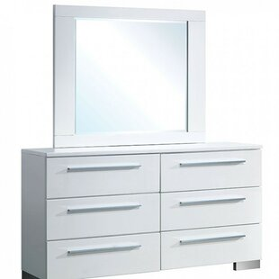 Carpenter 6 Drawer Double Dresser By Orren Ellis