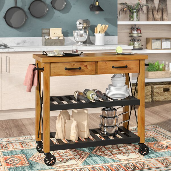 Chamberlin Kitchen Cart by Trent Austin Design