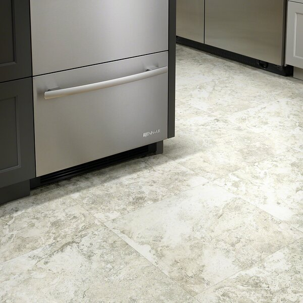 Centennial Tile 18 x 18 x 2mm Luxury Vinyl Tile in Grandstand by Shaw Floors