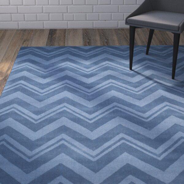 Scanlan Blue Area Rug by Wrought Studio