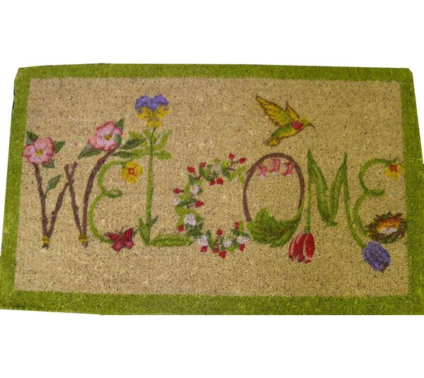 Welcome Doormat by Peking Handicraft
