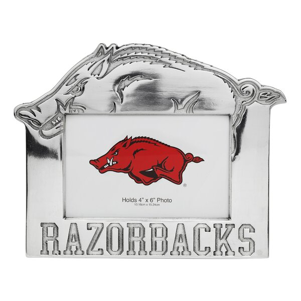 NCAA University of Arkansas Picture Frame by Arthur Court Designs