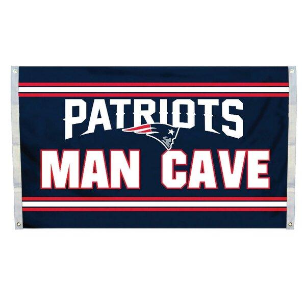NFL Man Cave Polyester 3 x 5 ft. Flag Set by Fremont Die