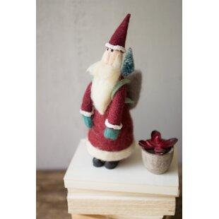 4aab6eb10ec Tall Felt Santa