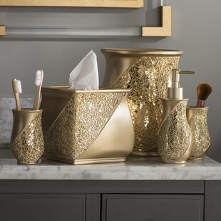 Brushed Gold Bathroom Accessories
