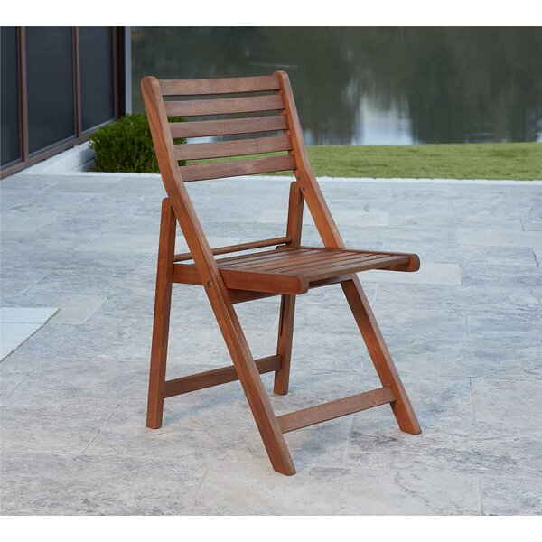 Fairmead Folding Patio Dining Chair (Set of 4) by Bay Isle Home