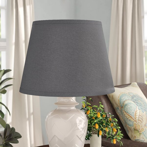 10 H x 17 W Linen Empire Lamp Shade ( Spider )