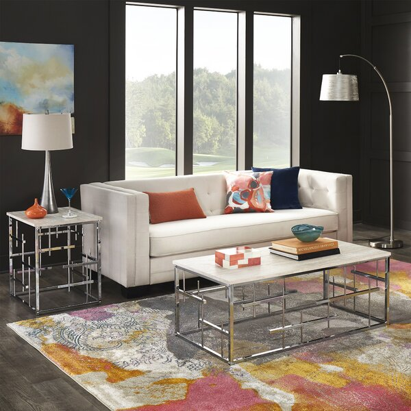 Saxatil 2 Piece Coffee Table Set by Orren Ellis Orren Ellis
