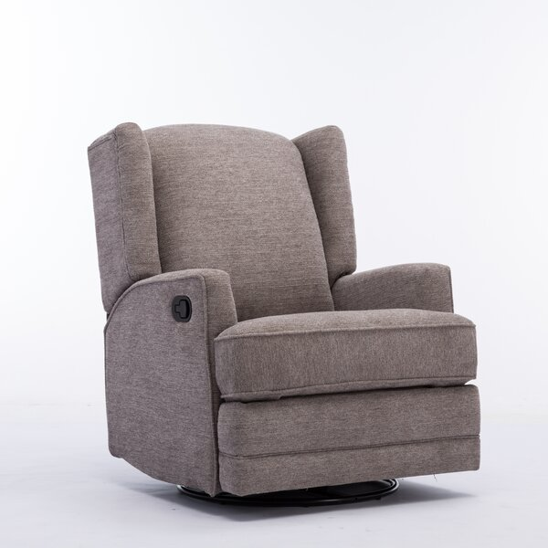 Neary Manual Swivel Glider Recliner [Red Barrel Studio]