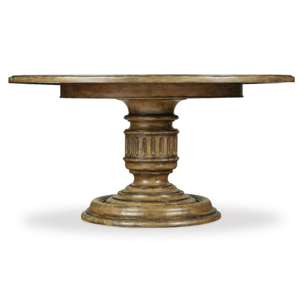 Auberose Pedestal Dining Base by Hooker Furniture