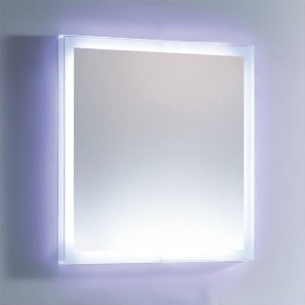 LED Lighted Vanity Wall Mirror by Fab Glass and Mirror