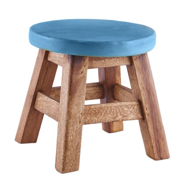 Lassiter Walnut Stool by Winston Porter