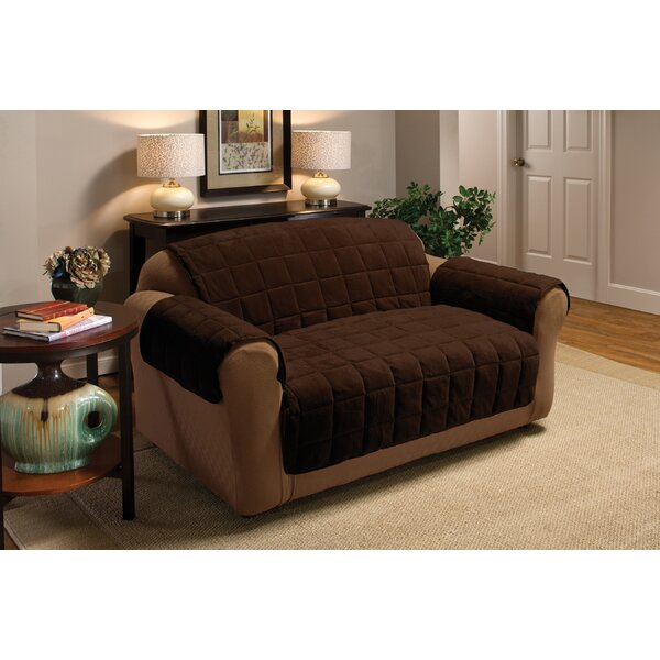 Burnham Protector T-Cushion Sofa Slipcover By Red Barrel Studio