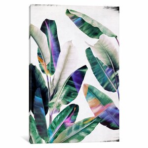'Tropical I' Graphic Art Print on Canvas by East Urban Home