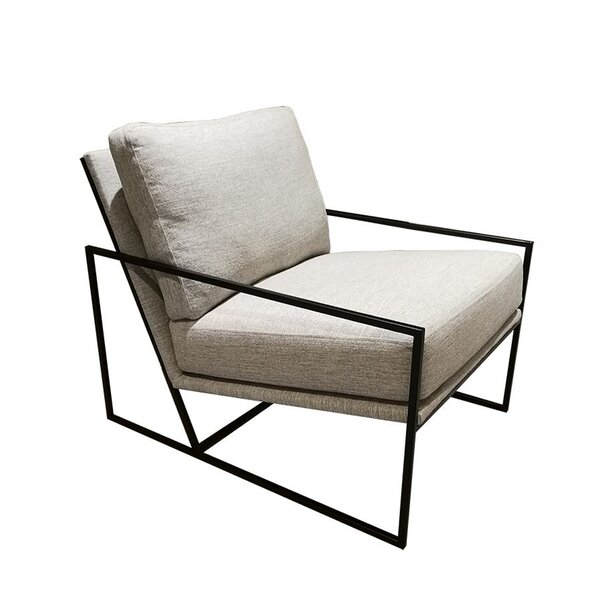 Seager Metal Armchair by 17 Stories 17 Stories