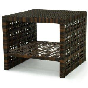 Astor Wicker Rattan Coffee Table by OASIQ