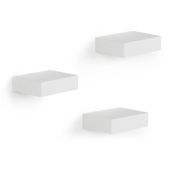 Showcase 3 Piece Wall Shelf Set (Set of 3) by Umbra