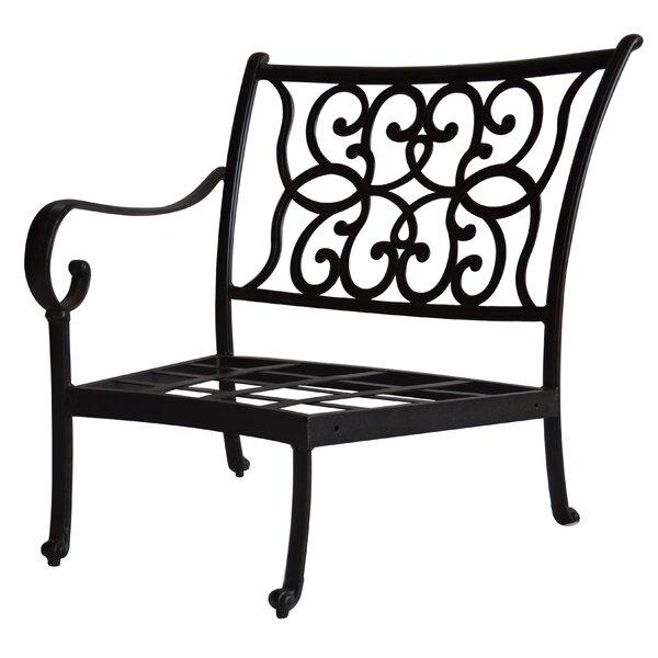 Poulin Right-Arm Curved Club Chair by Fleur De Lis Living