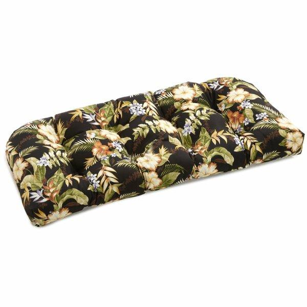 U-Shape Indoor/Outdoor Bench Cushion by Bay Isle Home